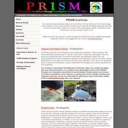 PRISM Curricula