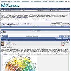 Prismacolor Color Wheel