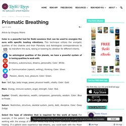 Prismatic Breathing