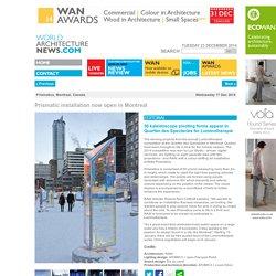 Prismatica, raw design, world architecture news, architecture jobs
