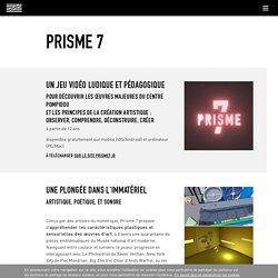 Prisme 7 : jeu gratuit par le Centre Pompidou