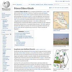 2003 Baghdad Central Detention Center