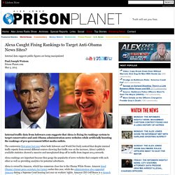 Alexa Caught Fixing Rankings to Target Anti-Obama News Sites?
