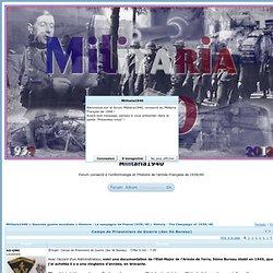Camps de Prisonniers de Guerre (doc 5è Bureau)