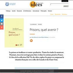 Prisons, quel avenir