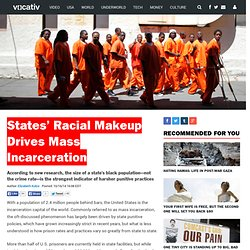 Study: Prisons Are Crueler in States With Large Black Communities