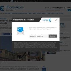 Prisons St Paul/St Joseph : La démolition a débuté - France 3 Rhône-Alpes