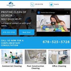 Pristine Clean Of Georgia, Commercial Cleaning Company Marietta GA