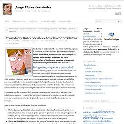 Privacidad y Redes Sociales: etiquetas con problemas
