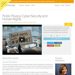 Public Privacy Course