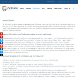 Our Privacy Policy - Emobilize Limited