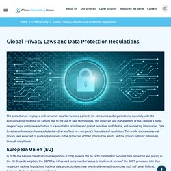 Global Privacy Laws and Data Protection Regulations