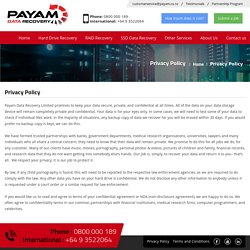 Payam Data Recovery (Auckland, New Zealand)