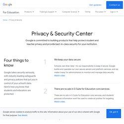 Sekretess och säkerhet