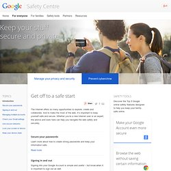 Stay safe online – Good to Know – Google