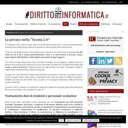 """La privacy nella """"Scuola 2.0"""" - dirittodellinformatica.it - Rivista telematica su diritto e tecnologia"""