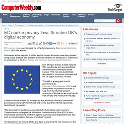 EC cookie privacy laws threaten UK's digital economy