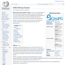 GNU Privacy Guard