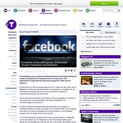 Europese privacywerkgroep onderzoekt nieuwe Facebook-voorwaarden