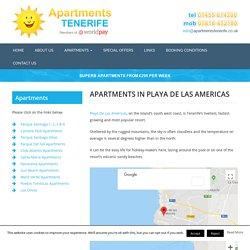 Holiday Apartments To Rent - Playa De Las Americas