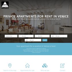 Private apartments for rent in Venice