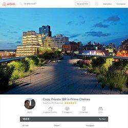 Cozy, Private 1BR in Prime Chelsea - Appartements à louer à New York