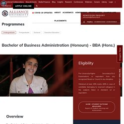Top Private bba Colleges In Bangalore India
