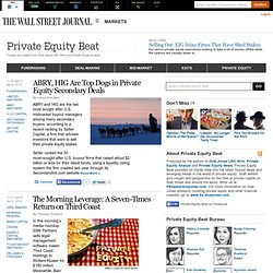 Private Equity Beat