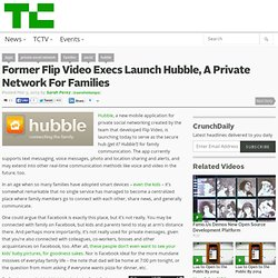 Former Flip Video Execs Launch Hubble, A Private Network For Families