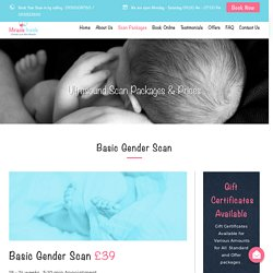 Private Gender Scan Package 18 Week to 24 Weeks