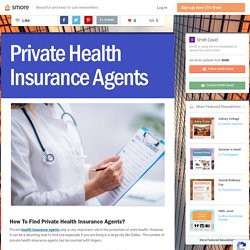 Private Health Insurance Agents