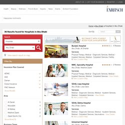 List of Private Hospitals in Abu Dhabi, UAE