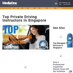 Top Private Driving Instructors in Singapore