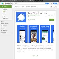 TextSecure Messagerie Privée