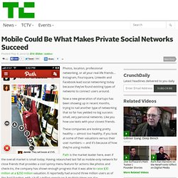 Mobile Could Be What Makes Private Social Networks Succeed