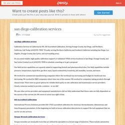 san diego calibration services