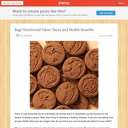 Ragi Nutritional Value: Facts and Health Benefit