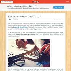 How Finance Brokers Can Help You?