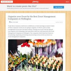 Best Event Management Companies in Wellington