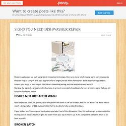 Dishwasher Parts