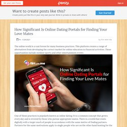 How Significant Is Online Dating Portals for Finding Your Love Mates