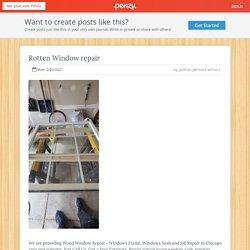 Rotten Window repair