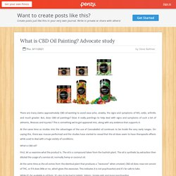 What is CBD Oil Painting? Advocate study