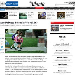 Are Private Schools Worth It?