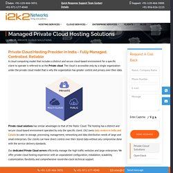 Private Cloud Server Service and Solution