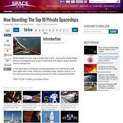 Top 10 des Vaisseaux spatiaux privés de l'avenir