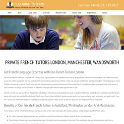 French Tutor, Private French Tuition London, Wimbledon