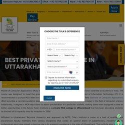 Best Private MCA College in Uttarakhand