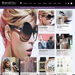 Fashion sales, privates sales at BrandAlley. Designer Clothes