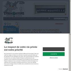 referendum sur la privatisation d'Aéroports de Paris. En piste pour le million de signatures cyberaction